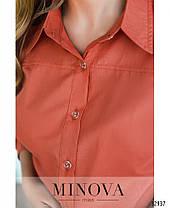Молодёжная классическая рубашка для офисного дресс -кода 44-46 размер, фото 2