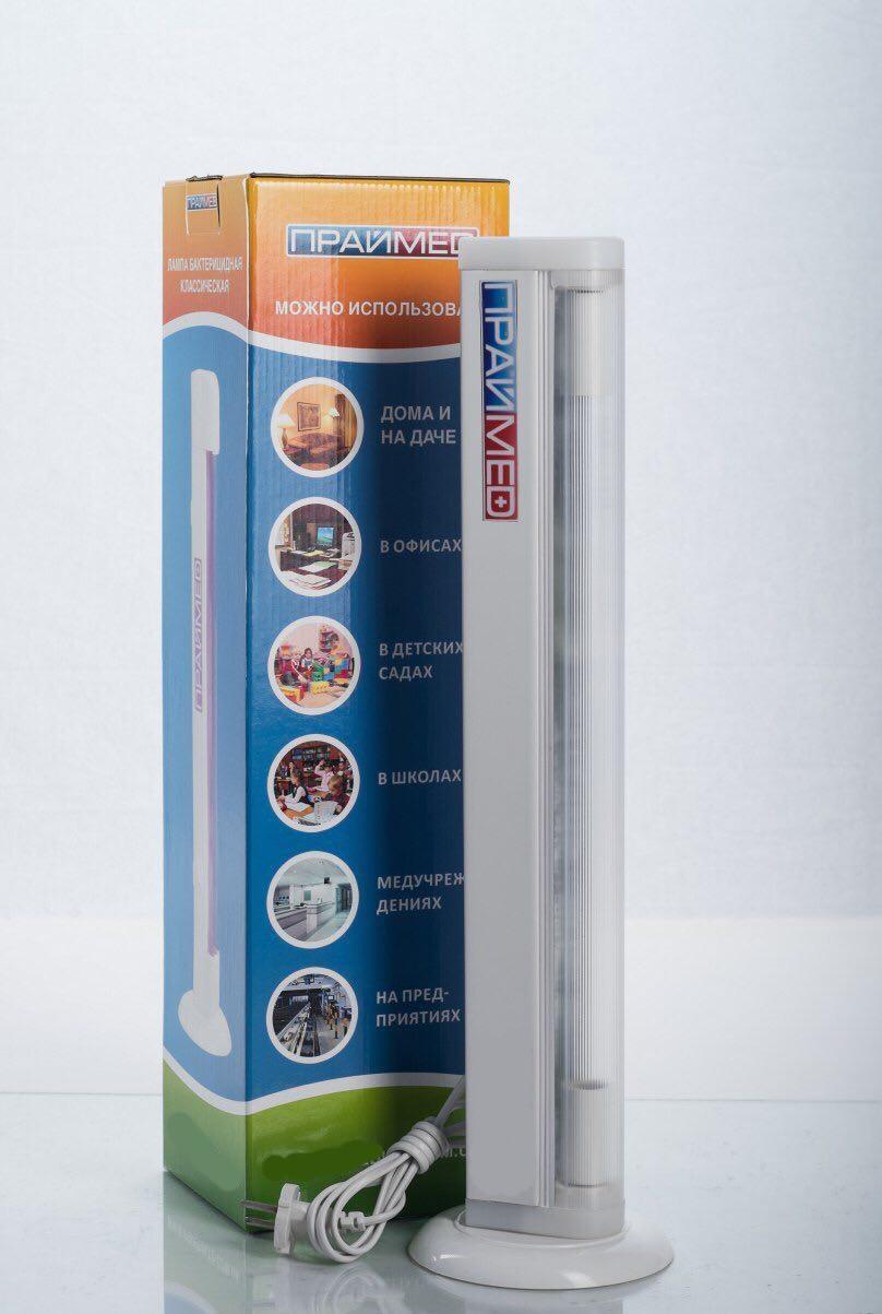 Лампа бактерицидна кварцева  ПРАЙМЕД ЛБК 150 озон