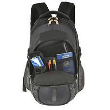 """Рюкзак """"BAGHOUSE"""" студенческий 36х47х20 чёрный  к С332ч, фото 3"""