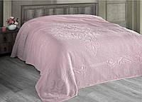 Махровая простынь160х220 см Foli Розовая Arya AR-TR1003903-pembe