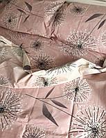 Комплект Кульбабки на персиковому, бязь (бавовна)