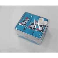 Кухонное полотенце ARYA Cow 40x60 см. 3 шт. 1154070 голубой