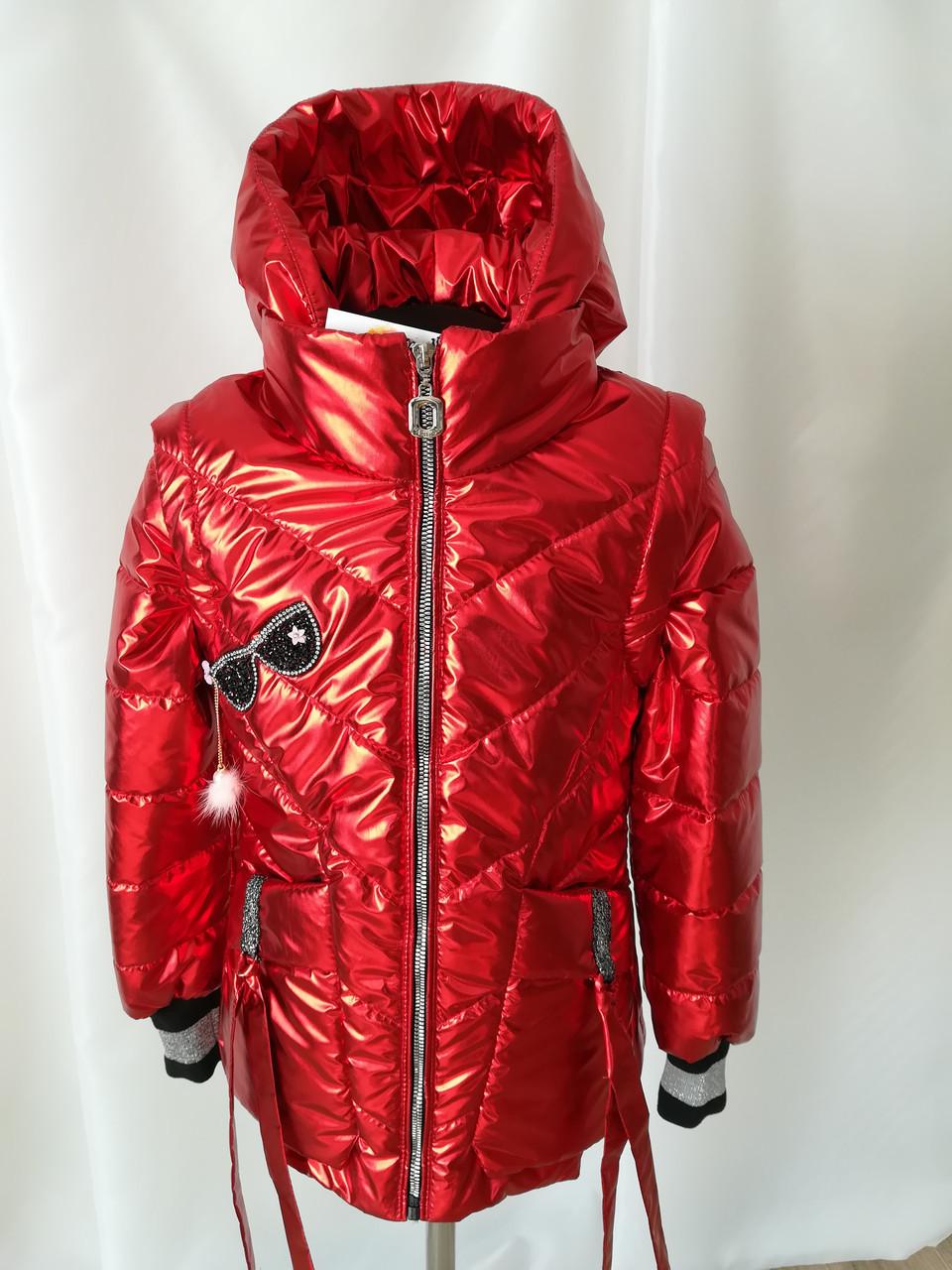 Осенние куртки для девочек интернет магазин   34