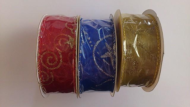 Лента декоративная органза  2м (код 01288)