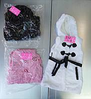 Безрукавки меховые для девочек оптом, Taurus ,4-12 рр