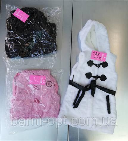 Безрукавки меховые для девочек оптом, Taurus ,4-12 рр, фото 2