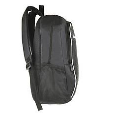 Рюкзак BagHouse городской, чёрный 29х46х22 ткань нейлон  к 6603р, фото 2