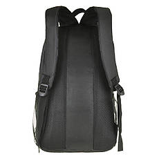 Рюкзак BagHouse городской, чёрный 29х46х22 ткань нейлон  к 6603р, фото 3