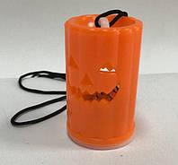 Светодиодная свеча Тыква подвесная 6 см (12 штук)