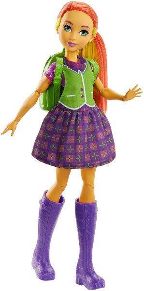DC Super Hero Girls Супер герои Старфаер трансформация FRF89 Starfire Transforming Doll Mattel 09446