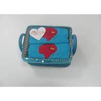 Кухонное полотенце ARYA Apple 40x60 см. 2 шт. 1154068 голубой 1154068