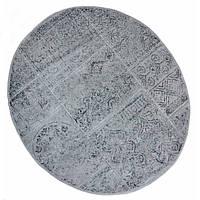 Коврик в ванную круглый 120 см Eskitme Серый Arya AR-TR1004842-grey