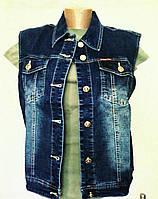ЖИЛЕТКА женская джинсовая, р.54-62