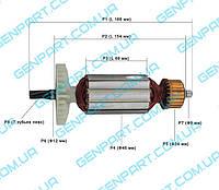 Якорь для дисковой пилы Фиолент ПД 3-70