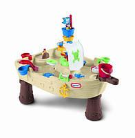 Little Tikes Стол для игры с водой Пиратский корабль 628566E3 Anchors Away Pirate Ship