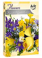 """Свечи таблетки арома """"Цветы"""""""