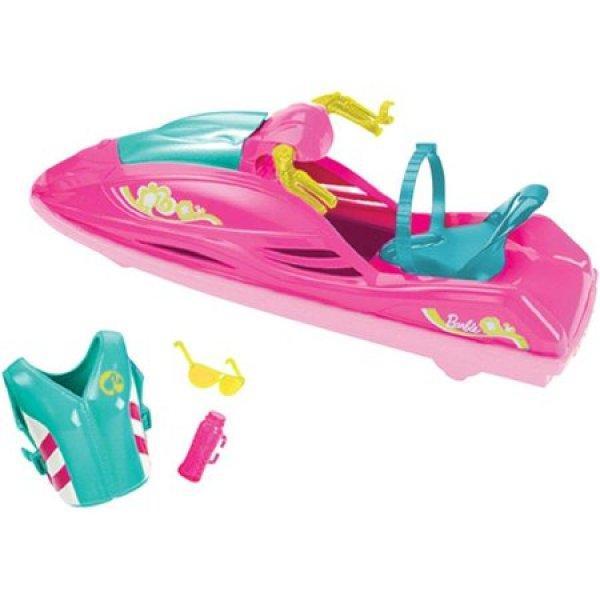 Barbie Водный мотоцикл Барби DYX08 Camping Fun Jet Ski