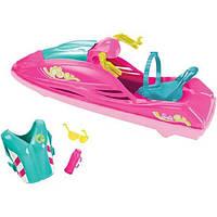 Barbie Водный мотоцикл Барби DYX08 Camping Fun Jet Ski, фото 1