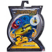 Screechers Wild L1 Дикие Скричеры Машинка трансформер Спаркбаг US683116 Sparkbug Flipping Morphing Toy Car Vehicle