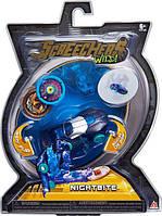 Screechers Wild L1 Дикие Скричеры Машинка трансформер Найтбайт US683115 Nitebite Flipping Morphing Toy Car Vehicle