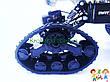 Джип на радиоуправлении на гусеницах для езды по снегу и грязи со сменными колесами 1:15 Big Foot 666-645XA, фото 4