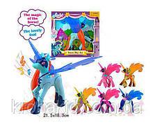 Музыкальная игрушка единорог с крыльями 20015  / Пони единорог со световыми и музыкальными эффектами