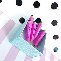 Ластик розовый карандаш