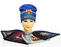 """Трикотажні шапки """"Barcelona"""", фото 1"""