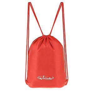Рюкзак-котомка Wallaby для обуви и сменки 35х43х1 красный, материал нейлон  в 28252кр, фото 2