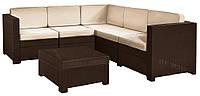 Набор садовой мебели Provence Set коричневый