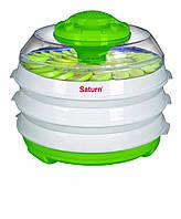 Сушка электросушилка для продуктов SATURN ST-FP0112 зелено-белая