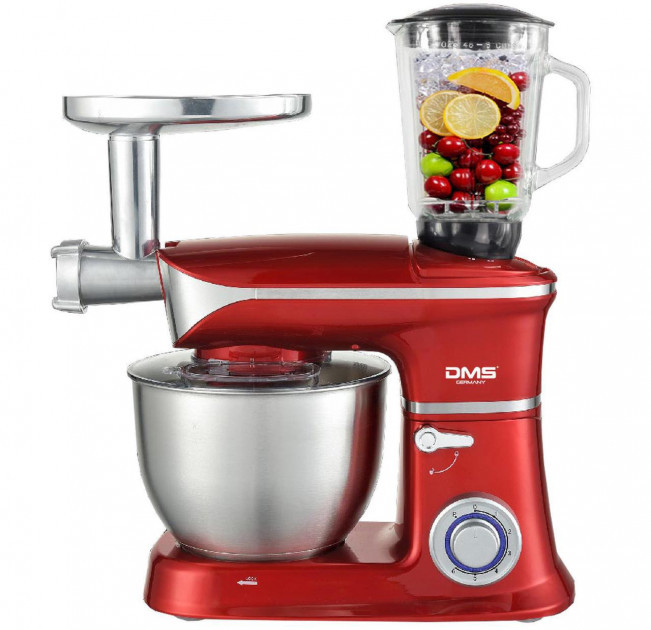 Кухонная машина DMS 3 в 1 1900w Red