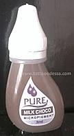 Пигмент для татуажа Biotouch Pure Milk Choco 3 ml