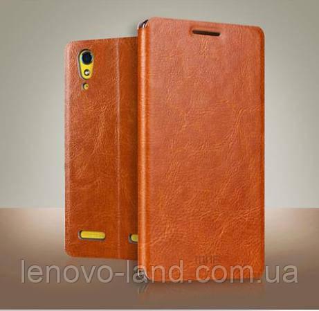 Кожаный чехол книжка MOFI для Lenovo K3