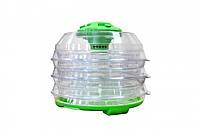 Сушка электросушилка для продуктов SATURN ST-FP0112 прозрачно-зеленая
