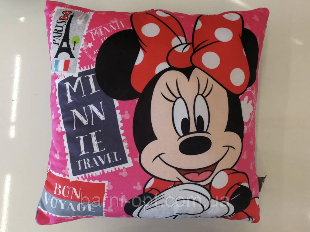 Подушки детские оптом, Disney Minie , 40*40 см