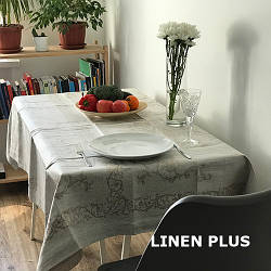 Столовий комплект 100% лен