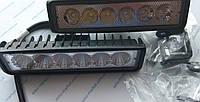 Комплект светодиодных фар WL-307 18W FL (возможность установки как ДХО или противотуманных фар)