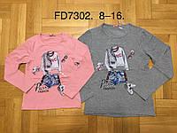 Реглан для девочек F&D 8-16 лет