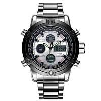 Мужские часы AMST 3022 Metall Silver-Black, военные часы, армейские часы