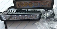 Комплект светодиодных фар WL-308 18W SP (возможность установки как ДХО или противотуманных фар)