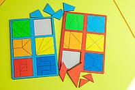 Склади квадрат Нікітіна 2 рівень. НУШ, фото 1