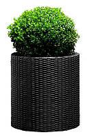 Горшок для цветов Large Cylinder Planter Серый