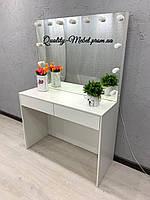 Стол для макияжа с двумя ящиками