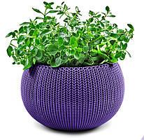 Кашпо COZIES - M  Фиолетовый