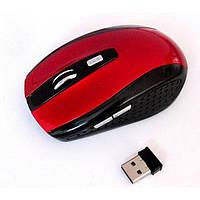 Беспроводная компьютерная оптическая мышка G-109 мышь Красная, фото 1