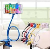 🔥 Универсальный гибкий держатель с прищепкой для телефона Lazy Bracket