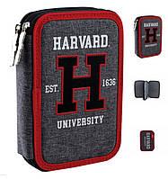 "Пенал книжка 532117 YES ""Harvard"" HP-01 2змейки"