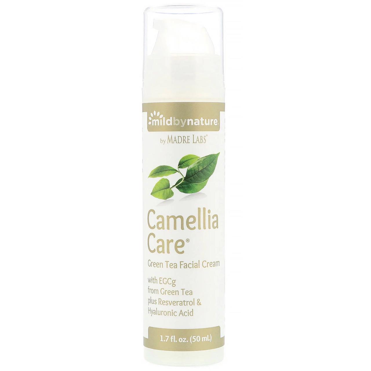 Крем зеленый чай для кожи с EGCg Camellia Care, 50 мл Mild By Nature