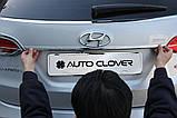 Хром накладка на крышку багажника Huyndai Santa Fe 2012- (Autoclover/C753), фото 6